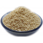 White Sesame Seeds - Safed Til - Sesamum Indicum